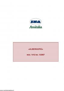 Ina Assitalia - Albergo Piu' - Modello 1412 Edizione 01-2007 [93P]