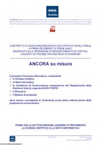 Ina Assitalia - Ancora Su Misura - Modello midv133-02 Edizione 31-05-2011 [55P]