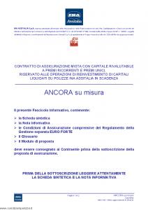 Ina Assitalia - Ancora Su Misura - Modello midv183 Edizione 31-05-2012 [62P]