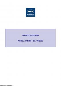 Ina Assitalia - Art & Collezioni - Modello 18790 Edizione 10-2009 [33P]