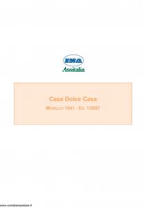 Ina Assitalia - Casa Dolce Casa - Modello 1541 Edizione 01-2007 [64P]