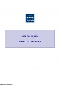 Ina Assitalia - Casa Dolce Casa - Modello 1541 Edizione 11-2010 [66P]