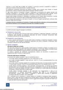Ina Assitalia - Cento Contratto Di Assicurazione Mista A Premio Unico - Modello midv190 Edizione 26-01-2012 [40P]