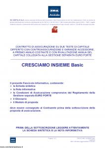 Ina Assitalia - Cresciamo Insieme Basic - Modello midv228 Edizione 31-05-2013 [64P]