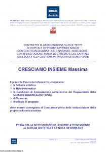 Ina Assitalia - Cresciamo Insieme Massima - Modello midv160 Edizione 31-05-2012 [60P]