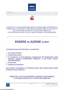 Ina Assitalia - Essere In Azione Client - Modello midv218 Edizione 31-05-2013 [74P]