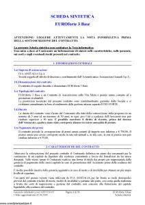 Ina Assitalia - Euroforte 3 Base - Modello midv110-05 Edizione 31-03-2009 [56P]