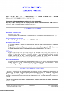 Ina Assitalia - Euroforte 3 Massima - Modello midv111-05 Edizione 31-03-2009 [60P]
