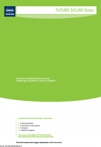 Ina Assitalia - Futuro Sicuro Basic - Modello midv143-02 Edizione 31-03-2009 [40P]