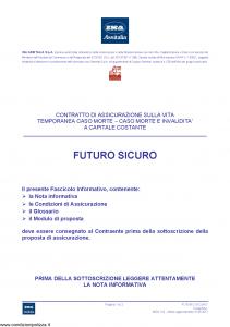 Ina Assitalia - Futuro Sicuro - Modello midv122 Edizione 31-05-2012 [44P]