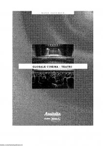 Ina Assitalia - Globale Cinema Teatri - Modello 11031 Edizione 2000 [33P]