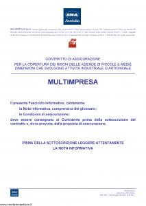 Ina Assitalia - Multimpresa - Modello 991 Edizione 14-02-2011 [106P]
