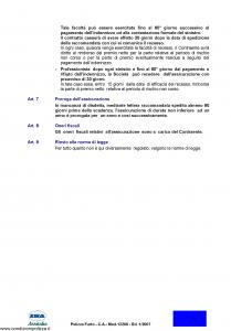 Ina Assitalia - Polizza Furto - Modello 12200 Edizione 01-2007 [11P]