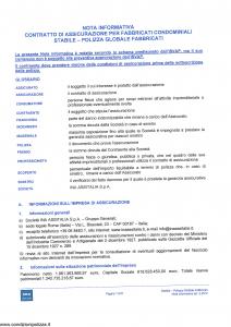 Ina Assitalia - Polizza Globale Fabbricati - Modello 1722 Edizione 03-2012 [42P]
