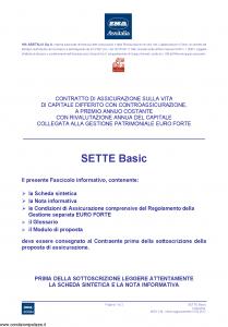 Ina Assitalia - Sette Basic - Modello midv-148 Edizione 31-05-2012 [56P]