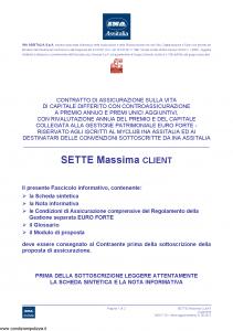 Ina Assitalia - Sette Massima Client - Modello midv-176 Edizione 31-05-2012 [66P]