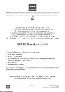 Ina Assitalia - Sette Massima Client - Modello midv-208 Edizione 31-05-2013 [66P]