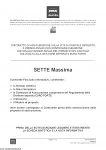 Ina Assitalia - Sette Massima - Modello midv-206 Edizione 31-05-2013 [56P]