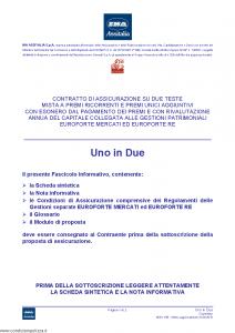 Ina Assitalia - Uno In Due - Modello midv-185 Edizione 31-05-2012 [64P]