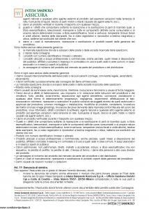 Intesa Sanpaolo Assicura - Condizioni Assicurazione Carta Fideuram Ambra 100070000086 - Modello nd Edizione 01-02-2016 [11P]