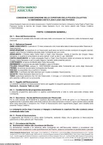 Intesa Sanpaolo Assicura - Condizioni Assicurazione Carta Flash-Flash Visa Paywave 100070000090 - Modello nd Edizione 01-02-2016 [11P]
