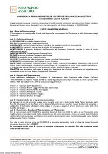 Intesa Sanpaolo Assicura - Condizioni Assicurazione Carta Platino 100070000089 - Modello nd Edizione 01-02-2016 [14P]
