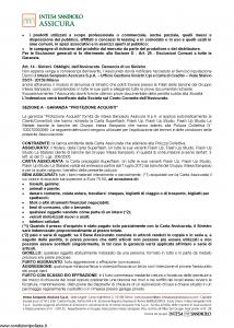 Intesa Sanpaolo Assicura - Condizioni Assicurazione Carta Superflash - Modello nd Edizione 01-02-2016 [13P]