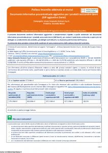 Intesa Sanpaolo Assicura - Incendio Mutui - Modello nd Edizione 15-12-2018 [4P]