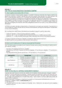 Intesa Sanpaolo Assicura - Polizza Business Sempre - Modello 185864 Edizione 12-2018 [56P]
