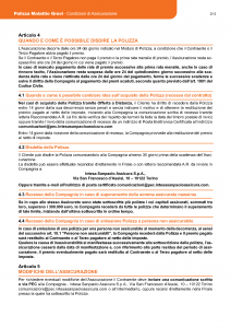 Intesa Sanpaolo Assicura - Polizza Malattie Gravi - Modello 186306 Edizione 12-2018 [31P]