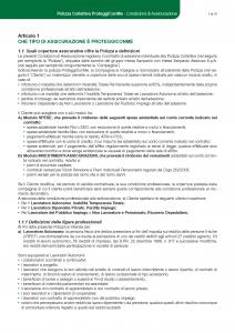 Intesa Sanpaolo Assicura - Proteggi Con Me - Modello 186270 Edizione 12-2018 [37P]