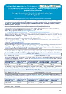 Intesa Sanpaolo Assicura - Proteggi Prestito - Modello nd Edizione 15-12-2018 [14P]
