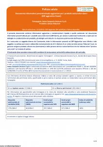 Intesa Sanpaolo Assicura - Salute Fideuram - Modello nd Edizione 15-12-2018 [9P]
