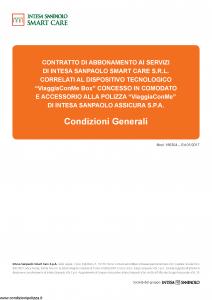 Intesa Sanpaolo Assicura - Smart Care Srl - Modello 186304 Edizione 01-2017 [13P]