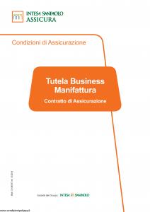 Intesa Sanpaolo Assicura - Tutela Business Manifattura - Modello ca186307 Edizione 12-2018 [72P]