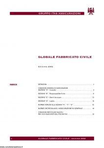 Itas Assicurazioni - Globale Fabbricato Civile - Edizione 2002 [21P]