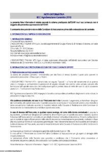 L Assicuratrice Italiana Vita - Bcc Agrobresciano Garantito 2010 - Modello aiv7511 Edizione 31-05-2011 [29P]