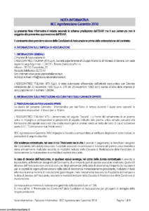 L Assicuratrice Italiana Vita - Bcc Agrobresciano Garantito 2010 - Modello aiv7526 Edizione 31-12-2011 [29P]