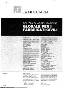 La Fiduciaria - Globale Per I Fabbricati Civili - Modello 333 Edizione 10-1987 [SCAN] [7P]