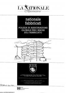 La Nationale - Nationale Fabbricati - Modello 107st Edizione nd [SCAN] [14P]