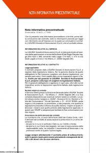 Liguria Assicurazioni - Polizza Globale Fabbricati Civili - Modello GF01A Edizione 11-2001 [20P]