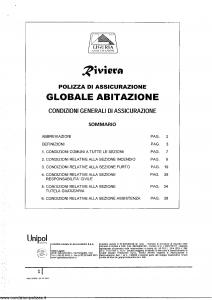 Liguria - Riviera Polizza Globale Abitazione - Modello ra02a Edizione 07-2012 [SCAN] [34P]