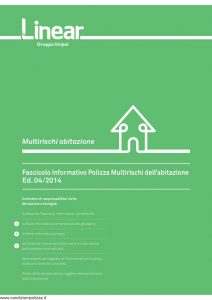 Linear - Multirischi Abitazione - Modello nd Edizione 04-2014 [24P]
