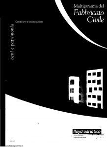 Lloyd Adriatico - Multigaranzia Del Fabbricato Civile - Modello 6273 Edizione nd [25P]