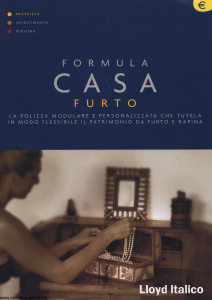 Lloyd Italico - Formula Casa Furto - Modello s04l-258 Edizione 01-2002 [32P]