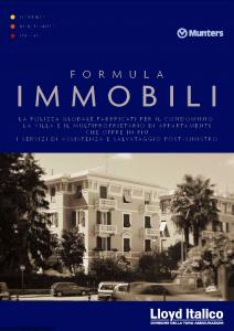 Lloyd Italico - Formula Immobili - Modello s01l-453 Edizione 07-2003 [38P]