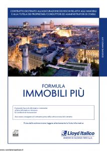 Lloyd Italico - Formula Immobili Piu' - Modello s01l-490 Edizione 03-2011 [50P]