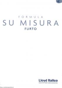 Lloyd Italico - Formula Su Misura Furto - Modello s04l-300 Edizione 10-2002 [31P]