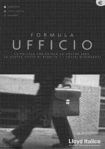 Lloyd Italico - Formula Ufficio - Modello s01l-433 Edizione 01-2002 [41P]