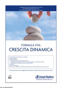Lloyd Italico - Formula Vita Crescita Dinamica - Modello s11l-117 Edizione 31-12-2009 [54P]
